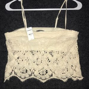 Express Crop Top - never worn